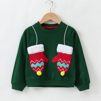 Baby Boys Girls Hoodies Clothes Children Winter Thick Sweatshirts Toddler Casual Sweater Kids Plus velvet Tops Costume Hoodies & Sweatshirts