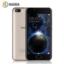 Оригинал Doogee Стрелять 2 Android 7.0 Quad Core Двойная камера 5.0 4.7-дюймовый HD IPS 2.5D MTK6580A 1 ГБ RAM + 8 ГБ ROM 3360 мАч мобильного телефона