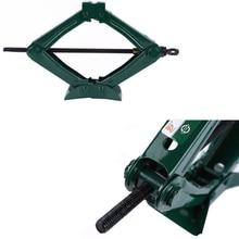 1pc 0.75Ton Car Foldable folding handle Scissor Jack Car Truck general Jack Top Tyre Tool цена