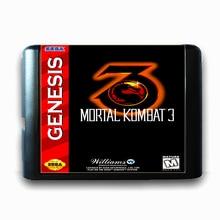 Mortal Kombat 3 de 16 bits da Sega MD Cartão de Jogo para o Mega Drive para Genesis