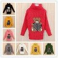ENVÍO GRATIS Nuevo otoño invierno suéter del bebé historieta de los niños de punto suéter de los niños, Al Por Menor # Y1356