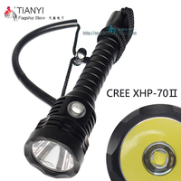 Scuba Diving Flashlight 18650 Light Dive Torch Powerful Cree LED XH P70 II LED Underwater Flashlight Waterproof Diving Lamp|LED Flashlights| |  -