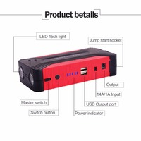 82800mAh Compact Size Car Jump Starer 600A Car Charger For Car Battery Booster Starting Device Power