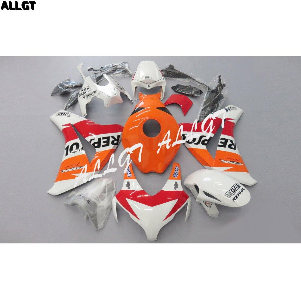 Orange White Red Fairing kit Bodywork for HONDA CBR 1000RR 2008 2009 2010 2011