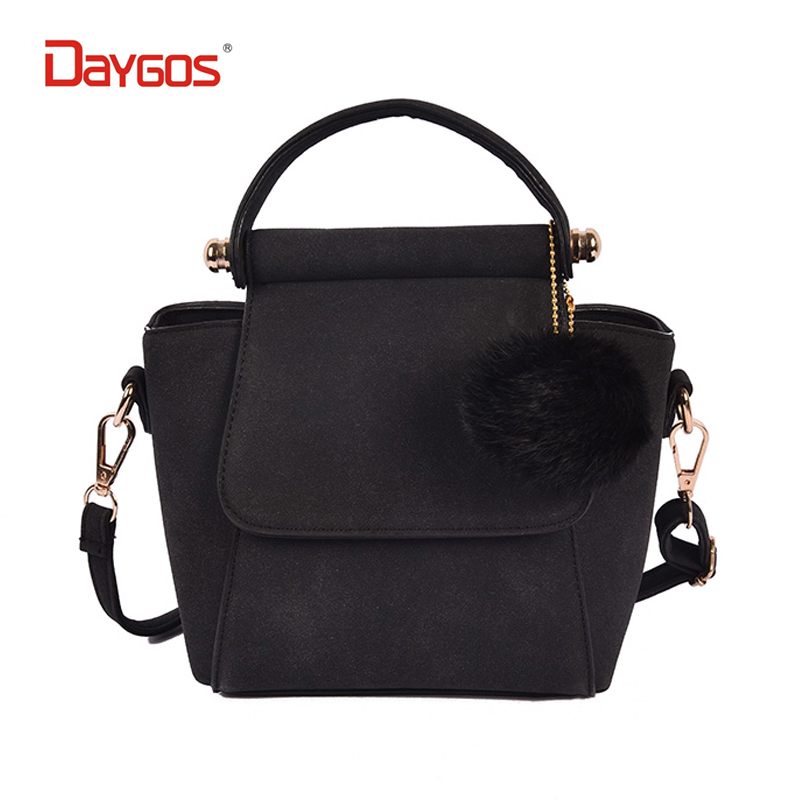 ФОТО 2017 New Frosted leather luxury handbags women messenger bags designer bag vintage shoulder bolsa feminina