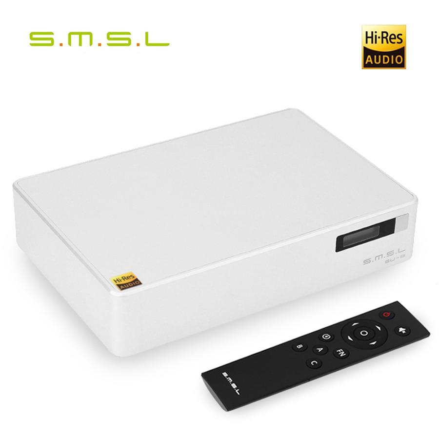 Smsl Su-8 V1.2 Version Hifi Dac 2 Tragbares Audio & Video Es9038q2m Usb Xmos Xu208 Dsd 64-512/768 Khz Dop Xlr Ausgang