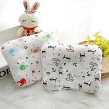 Детская форменная Подушка для новорожденных, положение пены с памятью, предотвращает плоскую голову против скатывания подушки для младенцев, 5 цветов