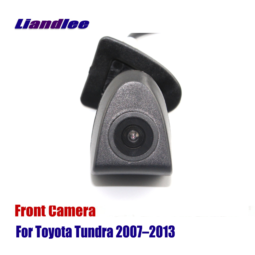 Liandlee Car Camera AUTO CAM Front View For Toyota Tundra 2007-2013 ( Not Reverse Rear Parking )