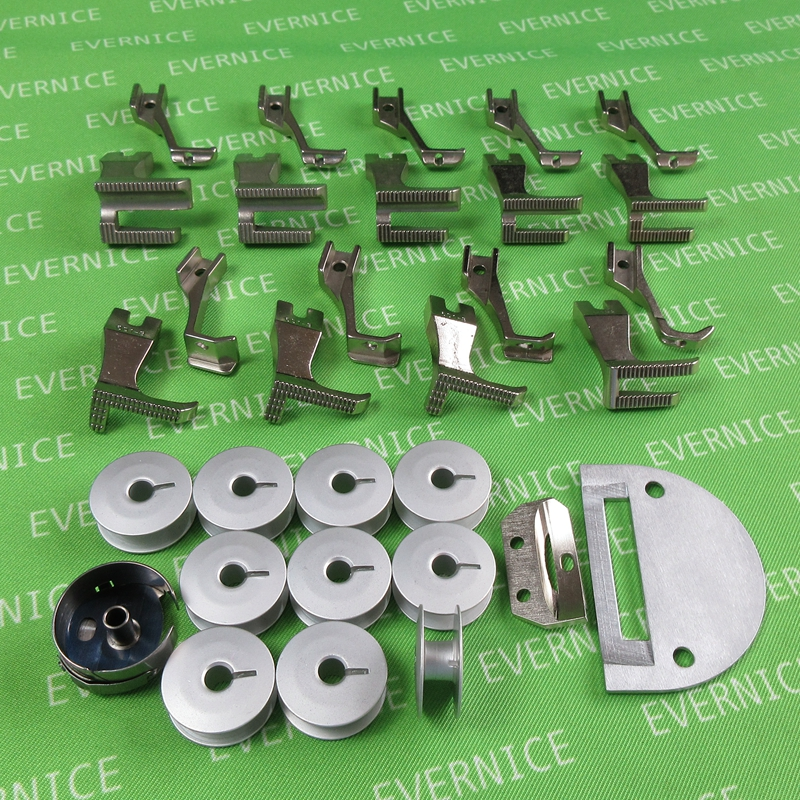 Walking Foot Needle Plate Feeder Bobbins Case for Juki DU1181N
