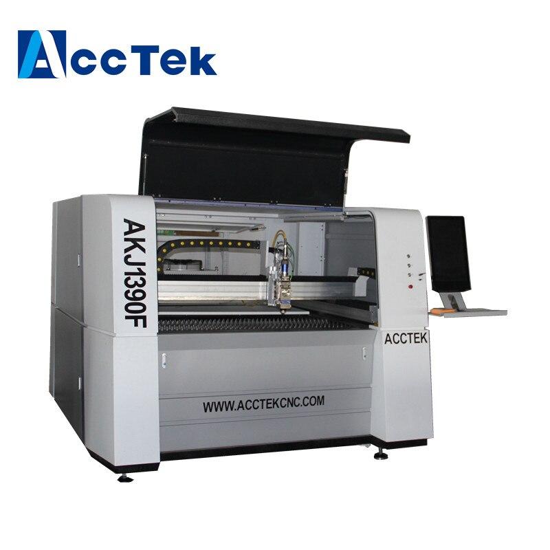 500W CNC Fiber Optical Laser Cutting Machine for Metals