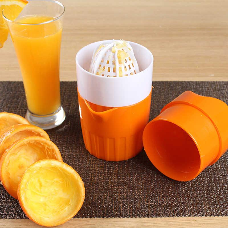 Высококачественная ручная соковыжималка для фруктов с апельсиновым лимоном, портативная соковыжималка для здорового образа жизни, соковыжималка для питья, блендер 300 мл