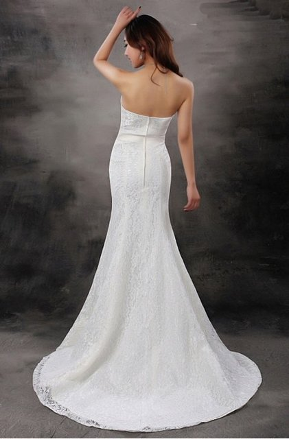 Free Shipping Elegant Sweetheart Custom Made Wedding Dresses Any