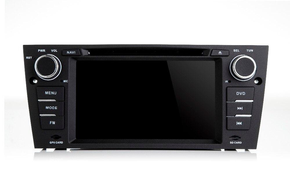 2 GB RAM 16G ROM Android 7.1.1 Voiture Lecteur DVD Stéréo pour BMW E90 E91 E92 E93 avec WiFi Bluetooth GPS Radio AUDIO VEDIO DVD NAVI