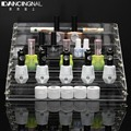 1 Pcs 6 Tiers Removable Acrylic Clear Nail Polish Shelf Cosmetic Varnish Display Stand Rack Holder Women Makeup Organizer Case