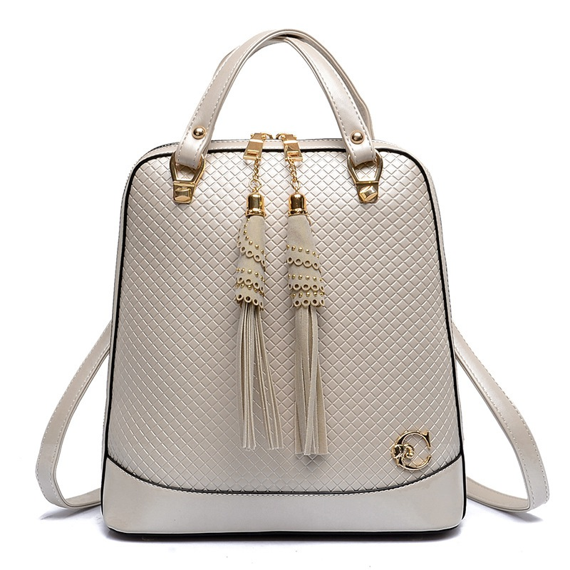 2017 New Fashion Fringe Women Backpack High Quality Pu Leather Backpacks For Teenage Girls School font