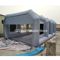 Chinese Supplier 6*4*2.5m Portable Inflatable Paint Booth Foldable Inflatable Spray Booth Car Cover Tent