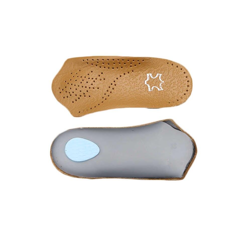 1 çift Unisex Arch destek ortopedik tabanlık düz ayak doğru ortez astarı ayak bakımı sağlık ortez ekleme ayakkabı pedi Yeni