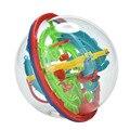 New Educational Training Tools 3D Magic Intellect Maze Ball Kids Children Balance Logic Ability Puzzle Game