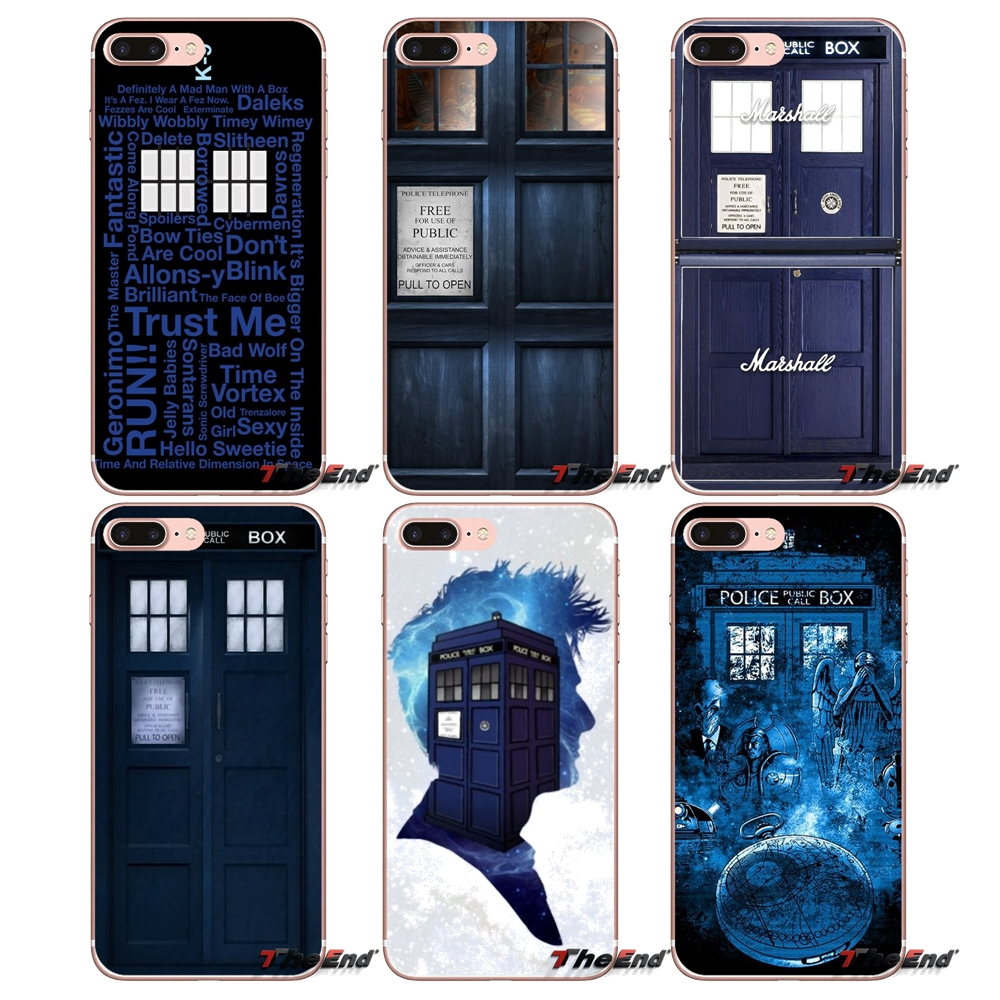 Phone Bags & Cases H279 Tardis Box Doctor Who Transparent Hard Thin Case Cover For Apple Iphone Xr Xs Max 4 4s 5 5s Se 5c 6 6s 7 8 X Plus High Quality And Inexpensive