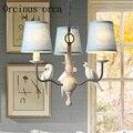Люстра в скандинавском стиле в стиле ретро  американская птичка  полимерная Люстра для гостиной  спальни  столовой  индивидуальная люстра и...