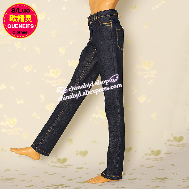 BJD Clothes free shipping Boy Jeans Close-fitting Pant, 1/3 bjd sd doll clothes, YF3-105,have not bjd sd doll or wig 1 3rd 65cm bjd nude doll bianca bjd sd doll girl include face up not include clothes wig shoes and other access
