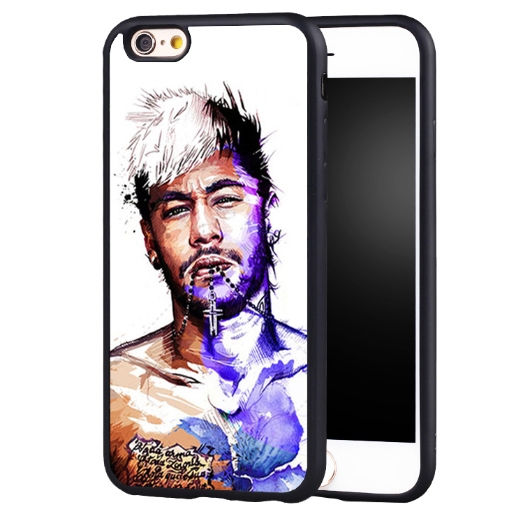 Football Soccer Star Neymar NO.11 case cover for iphone 7 7plus 6 6splus 5 5s 5c SE