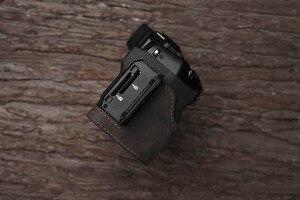 Image 2 - Fuji X H1 XH1 caméra Mr. Stone fait à la main en cuir véritable caméra étui vidéo demi sac caméra body