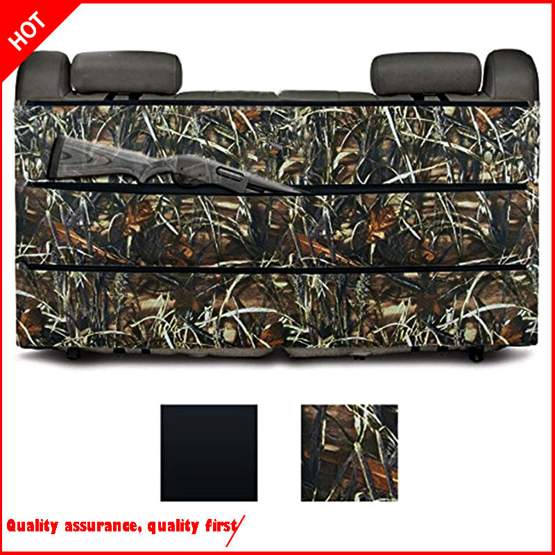 amariss rifle <font><b>rack</b></font> organizer black case for most suv truck of the car rear <font><b>seat</b></font> of the vehicle hunting sling bags stor