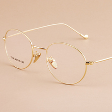 Reading Eyeglasses Optical Glasses Frames Glasses Women Male New Cat Eye Frame Ultra Light Frame Clear Glasses Round 17126