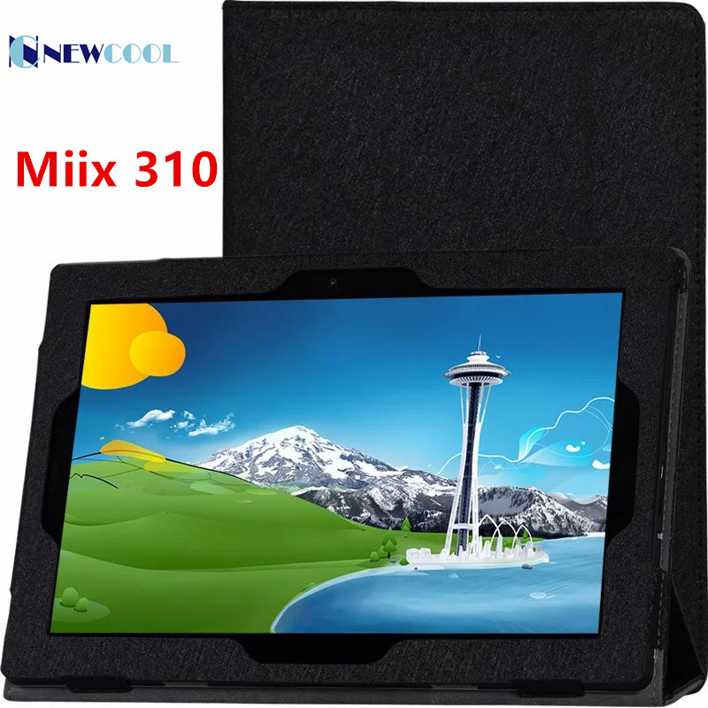 NEWCOOL Flip Cover Case For Lenovo Miix 310 MIIX 310-10ICR 10.1 Tablet PC Luxury Floral Printed Leather Case Smart Cover