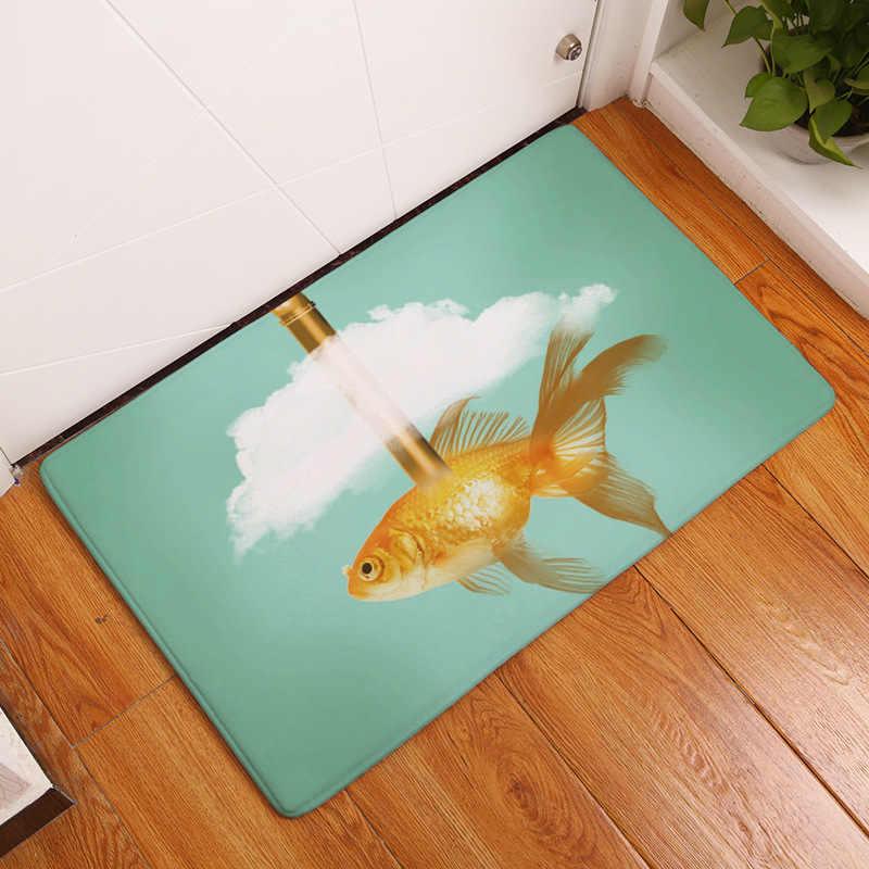 CAMMITEVER القرش زعنفة ذهبية الأحمر مظلة الأبيض سحابة الدراجة غرفة المعيشة أريكة سرير غرفة نوم الأزياء مخصص البساط تركيب غرفة حصيرة