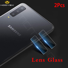 High Quality Camera Lens Tempered Glass For Samsung Galaxy A7 A9 2018 2.5D Screen Protector A750 A750F 6 Back Protect Film