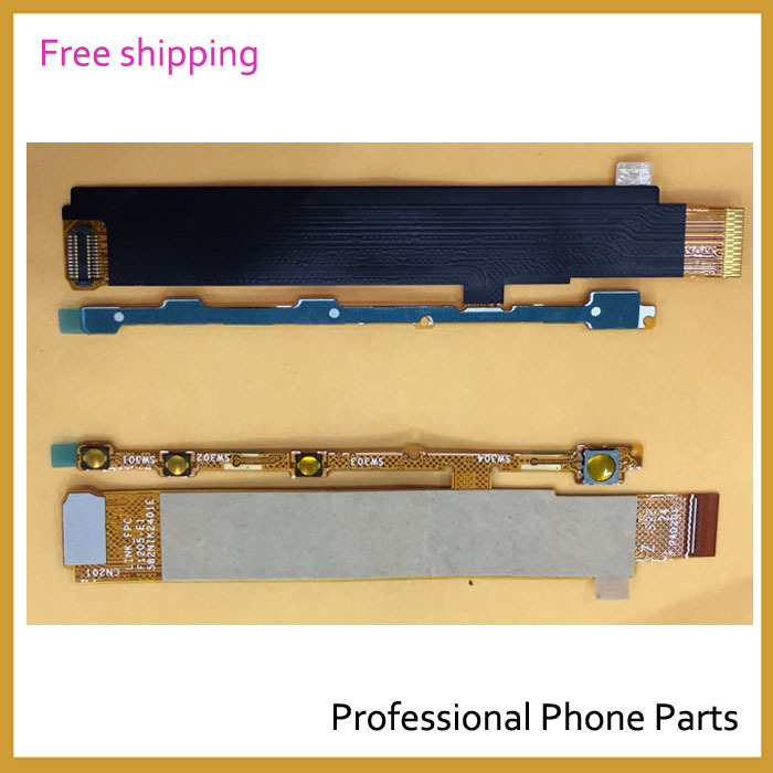 Original Side Button Power On Off Volume Flex Cable For Sony Xperia M C1904 C1905 Flex Ribbon