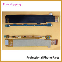 Original Side Button Power On Off Volume Flex Cable For Sony