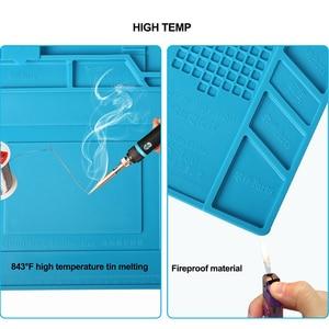 Image 3 - ESD Heat Insulation Working Mat Heat resistant BGA Soldering Station Repair Insulation Pad Insulator Pad Maintenance Platform