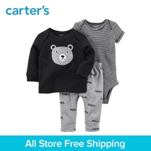 Carter's 3-Piece baby children kids clothing boy spring&summer Babysoft Bodysuit Pant Set 126H170