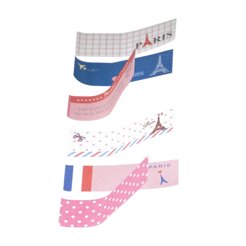 Cartoon Creative Cute Kawaii Paris Eiffel Tower Memo Pad Sticky Note post it Stationery gift for child Office school Supply