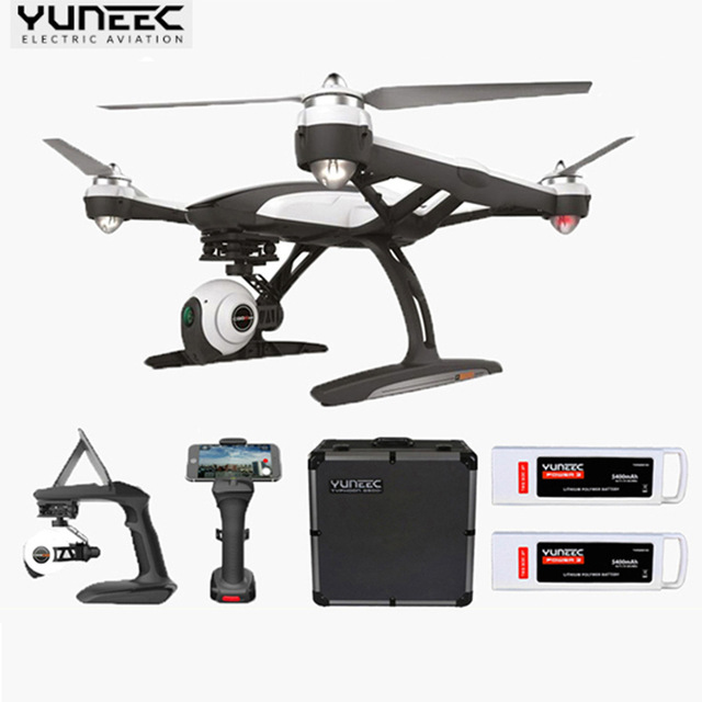 (Upgrade Version Of Q500 ) Yuneec Q500M Quadcopter Steady Grip Handheld Gimbal with Aluminum case + Extra Battery PK phantom 3