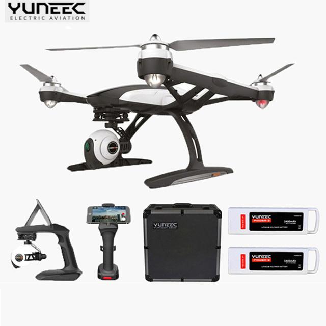 (Versión de actualización De Q500) Yuneec Q500M Quadcopter Control Constante de Mano phantom Cardán con el caso de Aluminio + Batería Adicional PK 3