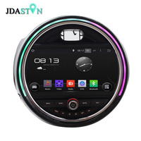 JDASTON Android Car multimedia CD DVD Player for BMW Mini Cooper 2015 2016 GPS Navigation Audio Radio 1080P Map USB Video BT map