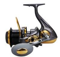 Yumoshi 8000-10000を助けたa大釣りリールシリーズハンドル12 + 1 bb 4.6: 1海水ビッグゲームスピニング釣りリール