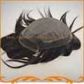 2016 новый продукт база топ моно кружева и отдел Французского кружева и вокруг ПУ мужской парик, прямой волны парики мужские волосы частей