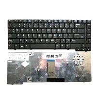 NÓS Novo Preto Inglês Substituir laptop teclado PARA HP 8510 8510 P 8510 W