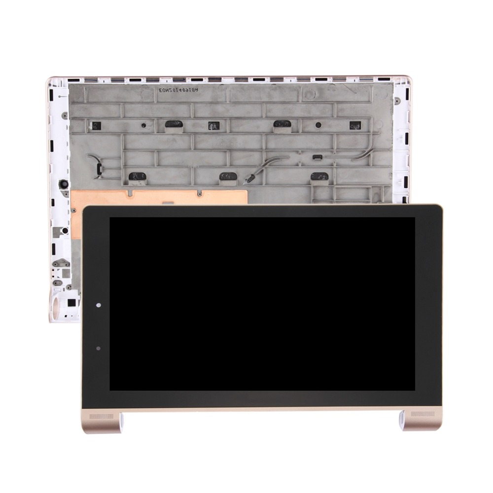 New for Lenovo YOGA Tablet 10 HD+ / B8080 / B8080-F LCD Screen and Digitizer Full Assembly with Frame repair original and new 10 1inch lcd screen b101uan01 e b101uan01 for lenovo yoga b8080 tablet pc replacement repair free shipping