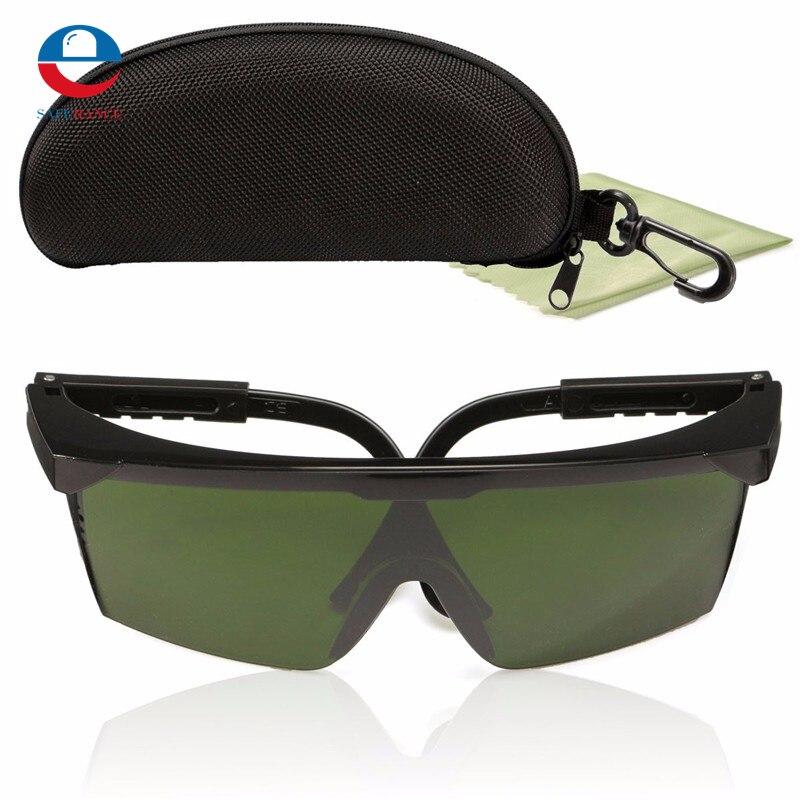 150x115mm PC Óculos de Proteção Óculos de Proteção Do Laser IPL-2  200nm-2000nm ebf0896ac2