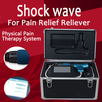 Effective Physical Pain Therapy System Shock Wave Machine For Pain Relief Painful inflammation Acupuncture points NEW