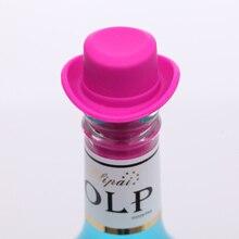 1 шт. Силиконовое для вина пробка для бутылки держать вакуумную герметичная пробка крышка бутылки кухонные барные инструменты