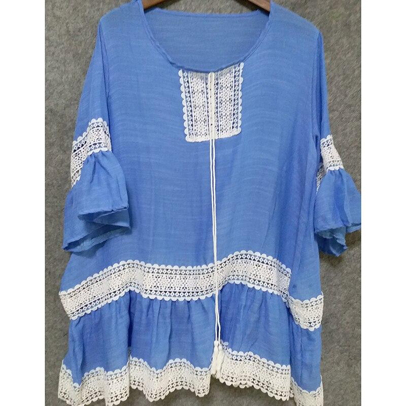 c2dfece90c0ac Beach Cover up Swimwear Women Cover ups Lace Beach Dress Tunic ...