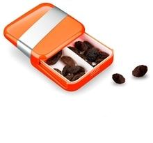 Portable Medicine Container Pills Case Medicina Storage Organizador Pill Box Cute Mini Pack One Day Gum Carrying Outdoor