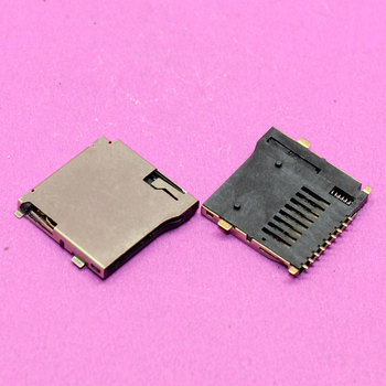 YuXi Brand New Sim card socket tray slot card reader module for MP3/ MP4/ GPS/ K97 T10/ Tablet PC... image